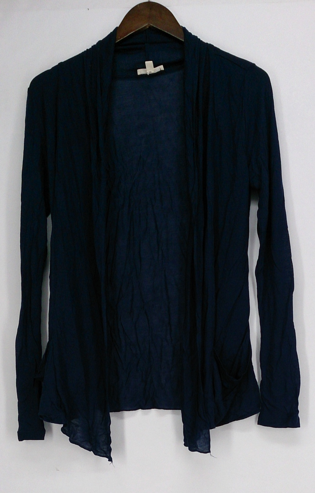 Zenana Outfitters Sweater M Long Sleeve Cardigan Royal Blue | eBay