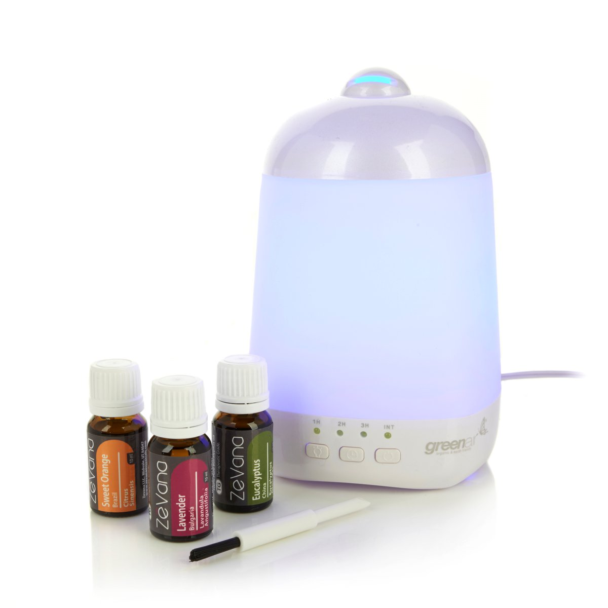 #A25929 Greenair Spa Vapor 2.0 Essential Oil Diffuser Set NEW EBay Most Effective 1175 Aromatherapy Diffuser Set pictures with 1200x1200 px on helpvideos.info - Air Conditioners, Air Coolers and more