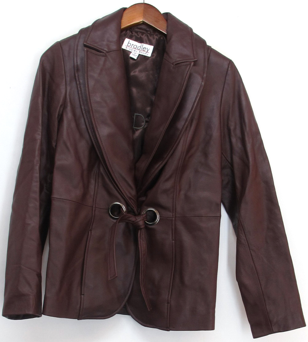 Bradley bayou leather jackets