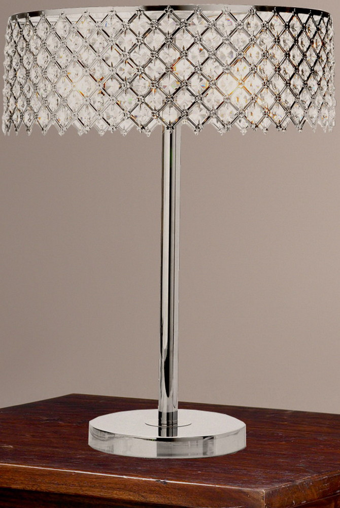 details about starlight mini crystal table lamp crystal new. Black Bedroom Furniture Sets. Home Design Ideas